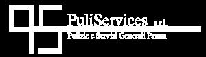 Puliservices logo negativo